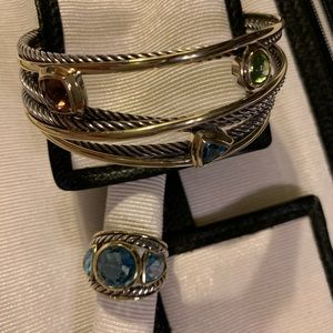 David Yurman Braclet & Ring
